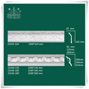 Chinese interior decorative gypsum plaster gesso coving