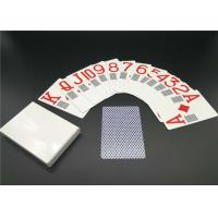Paper Personalized Deck of Cards Custom Design Casino Use EN71 / CE / REACH Approved