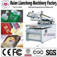 2014 Advanced manual silk screen printing machine