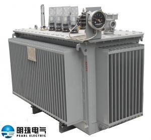 China Anti Lightning Impulse Oil Immersed Distribution Transformer 11 KV - 630 KVA wholesale