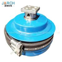 China Oil Fuel Retractable Hose Reel High Pressure 3 Channels For Construction Machinery wholesale
