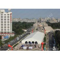 China 30X150M Large Square 850gsm PVC Fabric Cover UV Resistant Outdoor Exhibition Tent wholesale