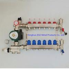 China Floor heating manifold pump and mixing valve set wholesale
