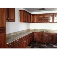 China Fabricated Natural Stone Countertops AJ Brown Granite Cabinet Tops For Decoration wholesale