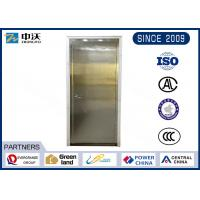 China Environmental Stainless Steel Fire Rated Doors With Anti Fire Perlite Cotton Plate wholesale