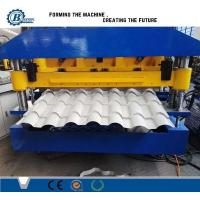 China Automatic Aluminium Tile Roll Forming Machine For Roofing CE wholesale