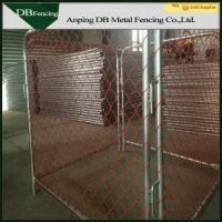 Buy cheap Movable Temporary Chain Link Fence For Traffic Control And Crowd Control from wholesalers