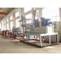 China Plastic Film Extrusion Machine 300kg/H With Special Rotation Screw Device wholesale