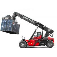 China 18.00-25 Tire Sany Kalmer Heli  SRSC4545C2-80 45 ton stacker crane reach stacker for Port containers on sale