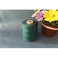 China Dyeing Type 100 Spun Polyester Sewing Thread High Tenacity With S Twist Direction wholesale