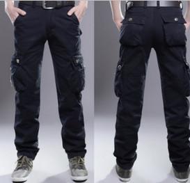 China Popular men trousers cotton jeans Leisure pants casual pants for men wholesale