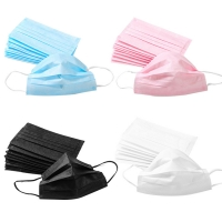 China Disposable Non Woven 3 Ply BFE98 Medical Nose Mask wholesale