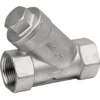 China 800psi Stainless Steel Threaded End Y Type Strainer Wye Strainer BSP NPT PT on sale