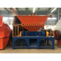 China Double shaft Shredder machine made in China with good feedback high capacity and low cost wholesale