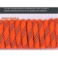 6mm accessory cord climbing rope nylon 66, high strength fire escape safety climbing rope