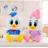 China Disney Donald Duck And Daisy With Foam Particle Material / Nanoparticles Disney Stuffed Toys wholesale