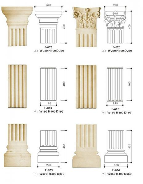 decorative column images