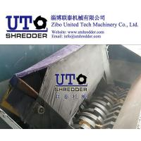 bulky garbage, low noise automatic waste furniture shredder/ sofa shredder/ sofa crusher/ with PLC control