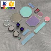China Optical Color Glass Filter on sale