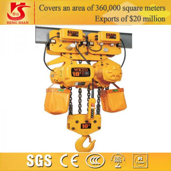 Quality Electric lifting 10 ton chain hoist for sale