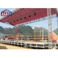 China Heavy Tudy Stage Light Truss , Tower Lighting Truss Systems 1-3m  Length wholesale