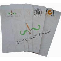 China White Color Custom Printed Mailing Envelopes , Personalized Mailing Envelopes on sale