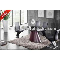 China Modern Glass Dining Table on sale