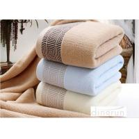 China Soft Durable Household Terry Cotton Bath Towels Super Absorbent wholesale