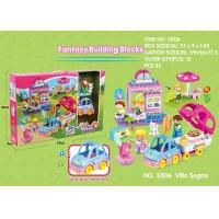 China Fire Station Building Blocks Educational Toys W / Functions For Age 3 Years Kids 49Pcs wholesale