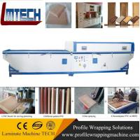 China Semi-automatic vacuum membrane press machine for office furniture wholesale