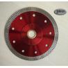 China 125mm Sintered Ceramic Tile Saw Blades , Cyclone Mesh Turbo Diamond Blade wholesale