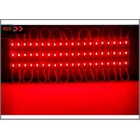 China 5730 SMD Power modules 3 LED 12V module light waterproof IP67 red color for channel letter lighting wholesale