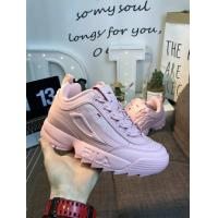 China Women Fila Disruptor Chunky Shoes CLR2943 discount brand shoes sports sneakers www.apollo-mall.com on slaes wholesale