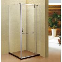 China Stainless Steel 304 Shower Cubicle Vertical Hinged Door Shower wholesale