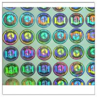 Buy cheap Custom print Anti-fake authentic adhesive hologram label ,secure genuine hologram sticker label from wholesalers