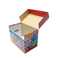 China Double Wall Corrugated Boxes CMYK Printing Hot Stamping ODM Service on sale