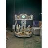 China 8 seat Kid Rides Amusement Mini Carousel Crown carousel Kiddie Rides wholesale