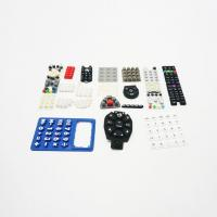 China Durable Silicone Numeric Keypad For Telecommunication Equipment Good Force wholesale