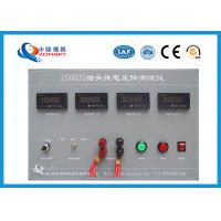 China Plug Cord Voltage Drop Test Equipment High Efficiency For Long Term Full Load Operation wholesale