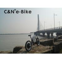 China 26 Inch Popular Motor Off Road Electric Mountain Bikes For Sportsman / Adults wholesale