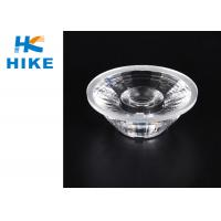 China 24° Citizen PMMA Optical Lens , 35mm Diameter Ceiling Led Light Lens wholesale