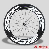 ZIPP 808 90mm Clincher Bicycle Wheels 700C Carbon Fiber Road Bike Racing Wheels