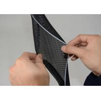 Buy cheap PET Material Self Wrapping Split Braided Sleeving For Wire Harness Protection from wholesalers