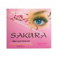 China Highly Recommend Lash Lift Kit Professional Permanent Eyelash Perm Curl Kit With 4 Perming Solution wholesale