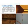 Metallized Fiber Bragg Grating