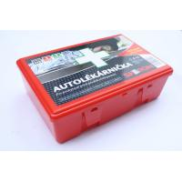 China GJ-3030 High Quality Plastic Material Car First Aid Box With Red, Green, Sky Blue Color wholesale