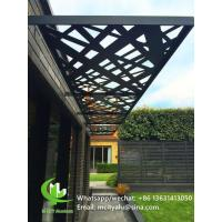 China Aluminum perforated panel for window shading with 3mm metal sheet with powder coated wholesale