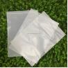 China 100% Biodegradable Corn Starch Compostable Ziplock Bag White Customizable PLA wholesale
