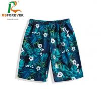 China Breathable Surf Mens Boardshorts Polyester Sublimation Printing wholesale