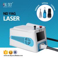 China Portable Full form of  ND YAG laser for tattoo removal/freckle  removal/Nevus removal wholesale